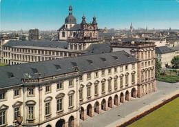 Mannheim, Blick über Das Schloss Auf Die Jesuitenkirche - Mannheim
