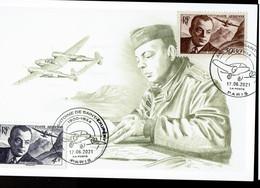Saint Exupery Ex Premier Jour 17 Juin 06 2021 écrivain Pilote Aviateur Pa 21 - 2010-....