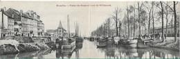 Bruxelles Ferme Des Boues Et Canal De WillebroekDubbele Kaart - Monumenten, Gebouwen
