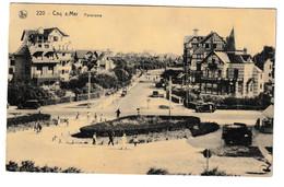 De Haan Panorama 1935 Coq Sur Mer Pension Du Nord - De Haan