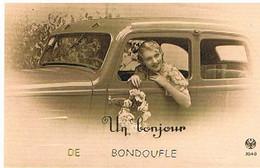 91  UN BONJOUR  DE  BONDOUFLE  CPM  TBE   176 - Bondoufle