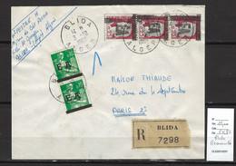 Algérie - EA - Lettre Recommandée - BLIDA -03/10/1962 - Briefe U. Dokumente