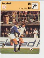 Fiche Foot Kurt Jara Né à Innsbruck Autriche FICH-Football-2 - Deportes