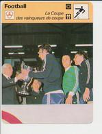 Fiche Foot Coupe Des Vainqueurs De Coupe Anderlecht Van Binst FICH-Football-2 - Deportes