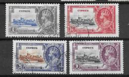 1935 USED Cyprus Michel 129-32 - Cyprus (...-1960)