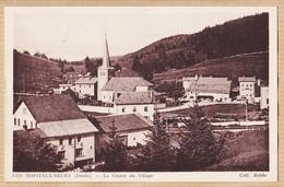X25056 ♥️ Peu Commun LES-HOPITAUX-NEUFS (25) Le Centre Du Village 1939 à  COLIN Voujaucourt Doubs - Otros Municipios