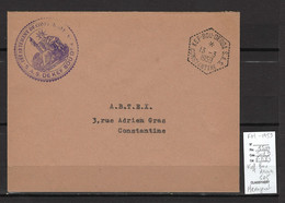 Algérie - KEF BOU DERGA - SAS - Franchise - Hexagonal 1959 - Briefe U. Dokumente