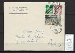 Algérie - EA - Rocher Noir - Sur En Tete Haut Commissariat  - 13/07/1962 - Briefe U. Dokumente