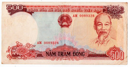 BILLET. VIET-NAM. 500 DONG. 1985. - Vietnam