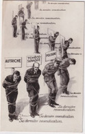 1939 - CP PROPAGANDE ANTI-NAZIE  ILLUSTRATEUR PAUL BARBIER FM Du SP 8520 => NERIS - RARE VOYAGEE ! - WW II