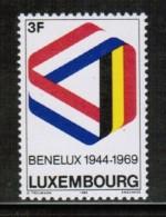 EUROPEAN IDEAS 1969 LU MI 793 LUXEMBOURG ** - Idées Européennes