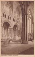 Lincoln Cathédral, Angel Choir - Lincoln