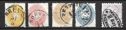 Autriche YT N° 22, N° 24/26 Et N° 45 Oblitérés. B/TB. A Saisir! - Used Stamps