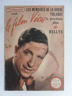 CINEMONDE LE FILM VECU LES MEMOIRES DE LA VACHE YOLANDE RELLYS N° 20 En 1950 - Cinéma/Télévision
