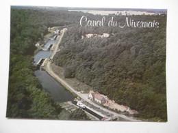 LE CANAL DU NIVERNAIS L'Echelle De Sardy - Succession D'Ecluses En Vue Aérienne - 58 NIEVRE - Unclassified
