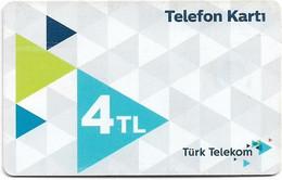 Turkey - TT (chip) - C-0324G - Telefon Karti (White), Chip CHT05, Ocak 2019, 4₤, Used - Turkije