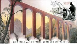 14214112 BE 20141003 Aarschot; Le Monde Du Train; FDC - 2011-...