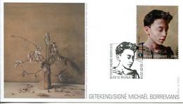 14214101 BE 20140215 Wilrijk; Peinture, Michaël Borremans; FDC - Modern