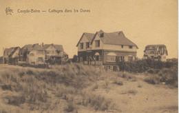 COXYDE-BAINS : Cottages Dans Les Dunes - RARE VARIANTE - Koksijde