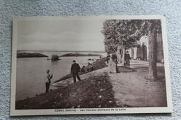 Cosne, Les Heureux Pêcheurs De La Loire, Nièvre 58 - Cosne Cours Sur Loire