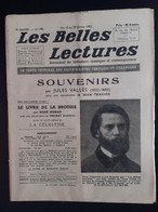 Les Belles Lectures Souvenirs Par Jules Valles 1952 - Art