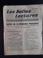 Les Belles Lectures Lettres De La Religieuse Portugaise Par Claude Barbin 1952 - Art
