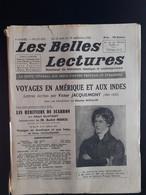 Les Belles Lectures Voyages En Amerique Et Aux Indes Par Victor Jacquemont 1952 - Art