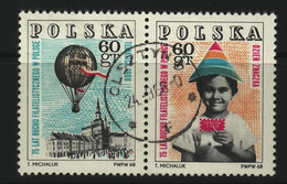 POLAND 1968  MICHEL NO: 1852 - 53  USED - Usados