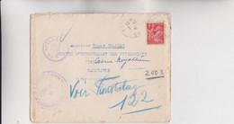 MARCOPHILIE - MILITARIA - COMPIEGNE - FRONTSTALAG 122, Courrier Redirigé Sur Fronstalag Av Ec Plusieurs Oblit Stalag Et - WW II