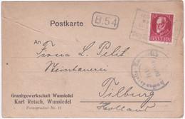 1919, Granitgewerkschaft Wunsiedel, Karl Retsch, Wunsiedel - Bayern
