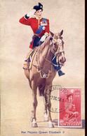 65040 New Zealand, Maximum 2.oct.1958 Her Majesty Queen Elizabeth II, Postmark Wellington - Briefe U. Dokumente