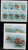 UGANDA 1996 MUSHROOMS MI No 1694-701+BLOCK 255-6 MNH VF!! - Mushrooms