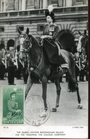 65041 New Zealand, Maximum 23 .jl.1954 Her Majesty Queen Elizabeth II, Postmark Ferry Road - Briefe U. Dokumente