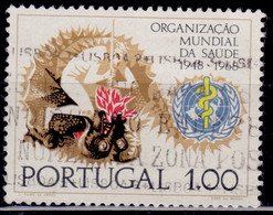 Portugal, 1968,  20th Anniversary Of WHO, 1e, SW#1046, Used - Used Stamps