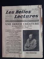 Les Belles Lectures Une Douce Creature Par Feodor Dostoievski 1952 - Art