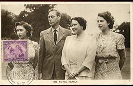 65042 New Zealand, Maximum 21.111952  The Royal Family, Postmark Ferry Road - Briefe U. Dokumente
