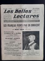 Les Belles Lectures Les Français Peints Par Un Innocent Par Mark Twain1952 - Art