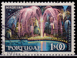 Portugal, 1968,  Madeira Fireworks, 1e, SW#1050, Used - Used Stamps