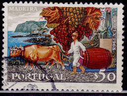 Portugal, 1968, Lubrapex Exhibition. Madeira, 50c, SW#1049, Used - Used Stamps