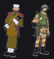 71460- Lot De 2 Pin's -Militaire.armée. - Militari