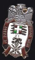 71468- Pin's -Le 21e Régiment D'infanterie .Militaire.Armée.signé SDEC Tours. - Militari