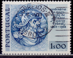 Portugal, 1969, 500th Anniversary Of Cabral Birth, 1e, SW#1056, Used - Used Stamps