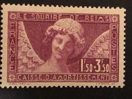 Timbre 256 Sourire De Reims, Neuf Avec Charnière *, Cote 100€ - Unused Stamps