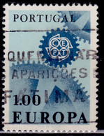Portugal, 1967, CEPT, Europa, 1e, SW#1015, Used - Used Stamps