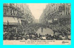 A926 / 531 45 - ORLEANS Fetes De Jeanne D'Arc 7 Et 8 Mai 1914 Défilé Militaire Chasseurs Cyclistes - Orleans