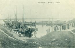 Boekhoute - Bouchaute - Haven - Loskaai - Boot - De Graeve 13393 - 1911 - Assenede