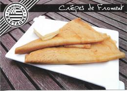 RECETTES DE CUISINE - LES CREPES DE FROMENT - RECETTE AU DOS DE LA CARTE - VOIR SCAN - CPM - VIERGE - - Recettes (cuisine)