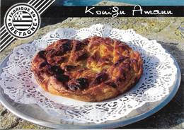 RECETTES DE CUISINE - KOUIGN AMANN - RECETTE AU DOS DE LA CARTE - VOIR SCAN - CPM - VIERGE - - Recettes (cuisine)