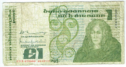 Eire - Irlande - Billet De 1 Pound - Medb - 20 Septembre 1977 - P70a - Ierland