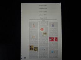 France Plaquettes Couleur Safe Dual Pour Les Années 1993 à 1997 - Pre-Impresas